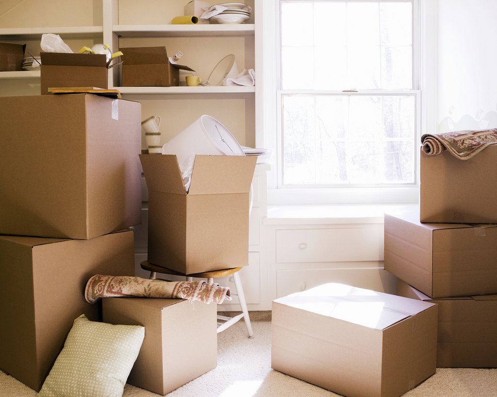 moving boxes in scottsdale house