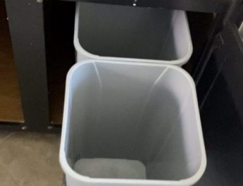 Custom Install Of Garbage Bin Pullouts