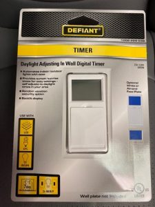 Defiant Timer Switch