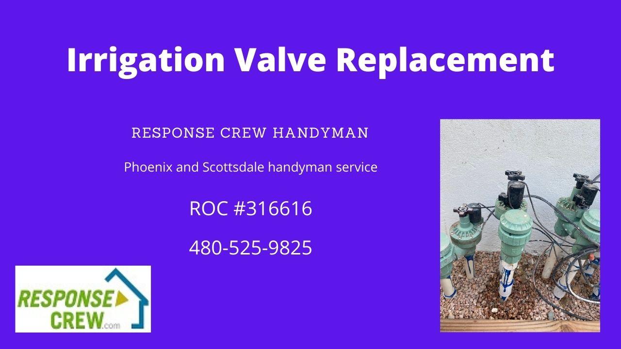 Irrigation Valve Replacement